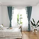 billiga Fönstergardiner-Moderna Integritet Två paneler Gardin Sovrum   Curtains