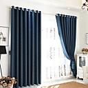 billige Flush Mount-lamper-Moderne Personvern To paneler Gardin Soverom   Curtains