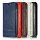billige Stearinlysdesign-Etui Til Apple iPhone XS / iPhone XR / iPhone XS Max Kortholder / Støtsikker Heldekkende etui Ensfarget Myk PU Leather