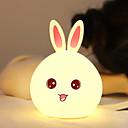 baratos Prateleiras e Suportes-1pç Rabbit Luzes de Presença / LED Night Light USB Adorável / Aniversário 5 V