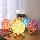 olcso Dekoratív világítás-usb fa rattan zsineg golyó fények asztali lámpa szoba otthoni dekoráció asztali lámpa hálószoba nappali