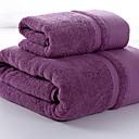 billige Vaskehåndklæ-Overlegen kvalitet Badehåndkle, Ensfarget 100% bomull Baderom 1 pcs