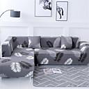 baratos Cobertura de Sofa-Cobertura de Sofa Romântico Fios Tingidos Misto de Poliéster e Algodão Capas de Sofa