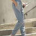 Χαμηλού Κόστους Μοδάτα Σκουλαρίκια-Γυναικεία Pantaloni de Alergat Αθλητικά παντελόνια Track Pants Ελαστική ζώνη μέσης Κορδόνι Αθλητισμός Χειμώνας Παντελόνια Φούστες Τρέξιμο Ελαφρύ Αερισμός Γρήγορο Στέγνωμα Μονόχρωμο Μαύρο Dusty Blue