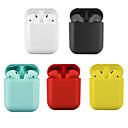 billige Ergonomiske displayer-kawbrown i18 tws mini bluetooth øretelefoner sports headset trådløse øretelefoner i-øret ørepropp popup touch øretelefon med mikrofon for telefon