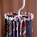 povoljno Skladištenje odjeće-plastika Prijenosno / Protiv klizanja / Zadebljanje Kravata Vješalica, 1pc