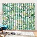 billige 3D gardiner-perforeringsfri installasjon av blendingsduk 3d digital utskrift fersk fortykning isolasjon gardin kan tilpasses ermet gardin