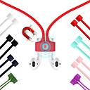 baratos Acessórios para Fones de Ouvido-Cinta magnética do fone de ouvido para airpods tws anti perdido cinta corda magnética corda para fones de ouvido bluetooth cabo de cabo de silicone