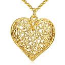 זול שרשראות-בגדי ריקוד נשים שרשראות תליון קלאסי בָּרוּך אופנתי ציפוי זהב Chrome זהב 46 cm שרשראות תכשיטים 1pc עבור מתנה יומי
