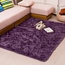 billige Tepper-Dongguan hoa1070fu7p1 fluffy gulvmatte 40 * 60 cm grå lilla