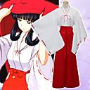 Χαμηλού Κόστους Απλίκες Τοίχου-Εμπνευσμένη από InuYasha Cookie Anime Anime Στολές Ηρώων Ιαπωνικά Κοστούμια Cosplay Συμπαγές Χρώμα Μακρυμάνικο Επίστρωση / Παντελόνια Για Γυναικεία