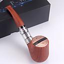 billige Vegglamper-f30 plus e pipe 1100mah elektronisk sigarett startpakke med oppladbar micro usb lader kabel refillable luftstrøm justerbar gavepakke nei nikotin ingen e væske