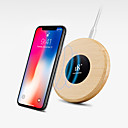 cheap Wireless Chargers-D8 Wireless Charger fast charger USB charger Universal Charger kit QI wirelss charger QC 2.0 wooden Charger for iphone/ Samsung/Huawei/Xiaomi