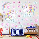 זול מדבקות קיר-מדבקות קיר דקורטיביות - מדבקות קיר מטוס / מדבקות קיר 3D / פיות חדר שינה / חדר ילדים