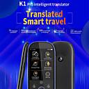 povoljno Novi gadgeti-k1 pro prevoditelj 2.4 inčni WiFi 500mp foto prijevod višejezični prijenosni pametni govorni prevoditelj