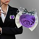 Χαμηλού Κόστους Κορδέλες για πάρτι-Λουλούδια Γάμου Μπουτονιέρες Γάμου / Γαμήλιο Πάρτι Γκρο / Χάντρες 0-10 εκ