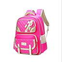 Χαμηλού Κόστους Παιδικά πέδιλα-Μεγάλη χωρητικότητα Oxford Πανί Νάιλον Φερμουάρ Σχολική τσάντα Καθημερινά Μαύρο / Βυσσινί / Ανθισμένο Ροζ / Κοριτσίστικα