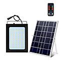 billige Pathway Lights-1pc 20 W LED-lyskastere / Utendørs Vegglamper / Solar Wall Light Vanntett / Solar / Lysstyring Hvit 5.5 V Utendørsbelysning / Svømmebasseng / Courtyard 150 LED perler