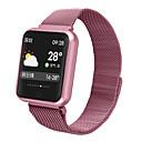 billige 3D gardiner-p68 smartklokke bt fitness tracker support varsle & pulsmåler kompatible apple / samsung / android telefoner