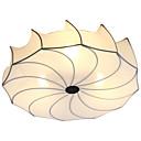 baratos Chuveiro de Mão-3-luz Lanterna / Novidades Apliques de Tecto Luz Ambiente Cromado Metal Tecido Novo Design, Adorável 110-120V / 220-240V