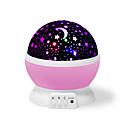 billige Bakeformer-Yiwu ho1070o21gh91361 fargerik drømrotasjons projeksjonslampe (rosa stjerner måne)