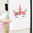 baratos Cinzeiros-adesivos de parede bonito dos desenhos animados - animal adesivos de parede animais / paisagem sala de estudo / escritório / sala de jantar / cozinha-g