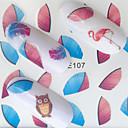 billige Leppestift-1 pcs Klistremerker Dyre Serier Neglekunst Manikyr pedikyr Mini Stil / Verneutstyr / Slim design Stilfull / Enkel Daglig / Festival