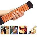 povoljno Reflektori za pozornicu-38 Inch 6 Strings Pocket Guitar / Gitaristički alat za treniranje / Alat za vježbanje akorda Drvo Prijenosno Glazbena oprema Instrument