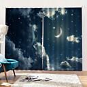 ราคาถูก ม่านปรับแสง-europea s tarry sky สีศิลปะออกแบบที่เรียบง่ายแหวนหน้าต่างม่านตกแต่งบ้าน mouldproof moistureproof ม่านอาบน้ำ