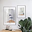 billige Innrammet kunst-Innrammet Lerret - Still Life Polystyrene Olje Maleri Veggkunst