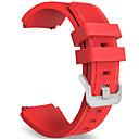 baratos Copos Inovadores-Relógio Elegante Silicone Analógico Vermelho
