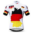 זול חולצות רכיבת אופניים-WEIMOSTAR בגדי ריקוד גברים שרוולים קצרים חולצת ג'רסי לרכיבה אדום / צהוב אופנייים אימונית ג'רזי צמרות נושם ספורט פוליאסטר אלסטיין טרילן רכיבת הרים רכיבת כביש ביגוד / מיקרו-אלסטי