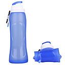 Χαμηλού Κόστους Μηχανισμοί Ψαρέματος-Μπουκάλια Νερού Πτυσσόμενο μπουκάλι νερού 500 ml PP Silica Gel Φορητά Πτυσσόμενο Δημιουργικό για Κατασκήνωση & Πεζοπορία Πεζοπορία Κατασκήνωση / Πεζοπορία / Εξερεύνηση Σπηλαίων 500 pcs