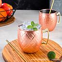 billige Jars & Boxes-Yiwu pho_0awhmoscowmule Moskva muldyr kopp kobberbelagt kopp 304 rustfritt stål krus cocktail glass ølkrus hammerpunkt sølv