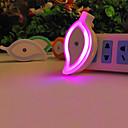 billige Innendørs Natt Lys-1pc Wall Plug Nightlight Rosa Kreativ 110-120 V