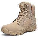 Χαμηλού Κόστους Αντρικές Μπότες-Ανδρικά Μπότες στην έρημο Δερμάτινο Φθινόπωρο & Χειμώνας Μπότες Μαύρο / Καφέ