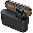 baratos Smartwatches-q32 bluetooth 5.0 fone de ouvido binaural tws earplugs de mãos livres sem fio de esportes
