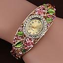 ราคาถูก สร้อยคอ-สำหรับผู้หญิง นาฬิกาสร้อยข้อมือ นาฬิกาอิเล็กทรอนิกส์ (Quartz) ห่วงโซ่เทนนิส Cubic Zirconia ฟ้า / เขียว / สีชมพู นาฬิกาใส่ลำลอง เลียนแบบเพชร ระบบอนาล็อก กำไล สง่างาม - สีแดงชมพู สายรุ้ง สีม่วง