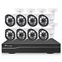 baratos Acessórios para Cabelos-HDMI 1080P (1920 x 1080) 8 pcs 1080P Dome 50 m Não