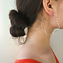Χαμηλού Κόστους Σετ Κοσμημάτων-Γυναικεία Σκουλαρίκι Πεπαλαιωμένο Στυλ Λουλούδι Σκουλαρίκια Κοσμήματα Χρυσό / Ασημί Για Πάρτι Δώρο Καθημερινά Αργίες Κλαμπ 1 Pair