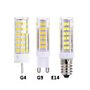 Χαμηλού Κόστους Μοδάτο Βραχιόλι-5pcs 7 W LED Φώτα με 2 pin 300 lm E14 G9 G4 T 75 LED χάντρες SMD 2835 Θερμό Λευκό Άσπρο 220-240 V 12 V