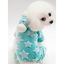 povoljno Dijelovi i dodaci za 3D printer-Psi Mačke Hoodies Jumpsuits Odjeća za psa Ugrijati Zelen Plava Pink Kostim 100% Coral runo Print Casual / sportski S M L XL XXL