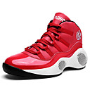 Χαμηλού Κόστους Αντρικά Πέδιλα-Ανδρικά Παπούτσια άνεσης PU Ανοιξη καλοκαίρι Αθλητικό Αθλητικά Παπούτσια Μπάσκετ Μη ολίσθηση Λευκό / Μαύρο / Κόκκινο