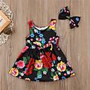 זול אוברולים טריים לתינוקות לבנים-שמלה ללא שרוולים פרחוני בנים תִינוֹק