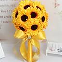 baratos Lembrancinhas Práticas-Bouquets de Noiva Buquês / Acessório para Fantasia Casamento / Festa de Casamento Flôr Seca / Tweed / Tecidos 11-20 cm