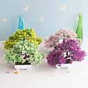 billige Bakeredskap-1 stk simulering juletre bonsai plastgrønn plante falske blomsterpotter å plante små hjemmepynt dekorasjoner