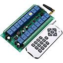 Χαμηλού Κόστους Smart Switch-dc12v-24v έξυπνος διακόπτης 18χ 10a δέκτης / κωδικός εκμάθησης ρελέ 18χ πομπός και δέκτης rf 433mhz
