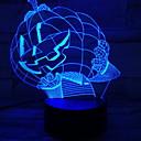 Χαμηλού Κόστους 3D φώτα τη νύχτα-αποκριές κολοκύθα 3d φως φως νύχτα οπτικό φως touch desktop λαμπτήρες 7 χρώματα αλλαγή ατμόσφαιρα 3d οδήγησε λαμπτήρα διακοσμητικό φως για party 1pack