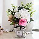 baratos Flores Artificiais & Vasos-Flores artificiais 1 Ramo Clássico Contemporâneo Moderno Flores eternas Flor de Mesa