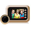 billige Dørtelefonssystem med video-fabrikk oem mini 1080p trådløs video 60mm linse 160 ° synsvinkel dørklokke håndfri liten smarthemmesikkerhet en til en videodørtelefon